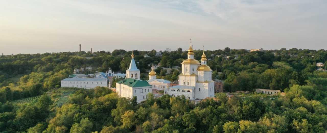 Молчанский монастырь-крепость - главная достопримечательность Сумской области.
