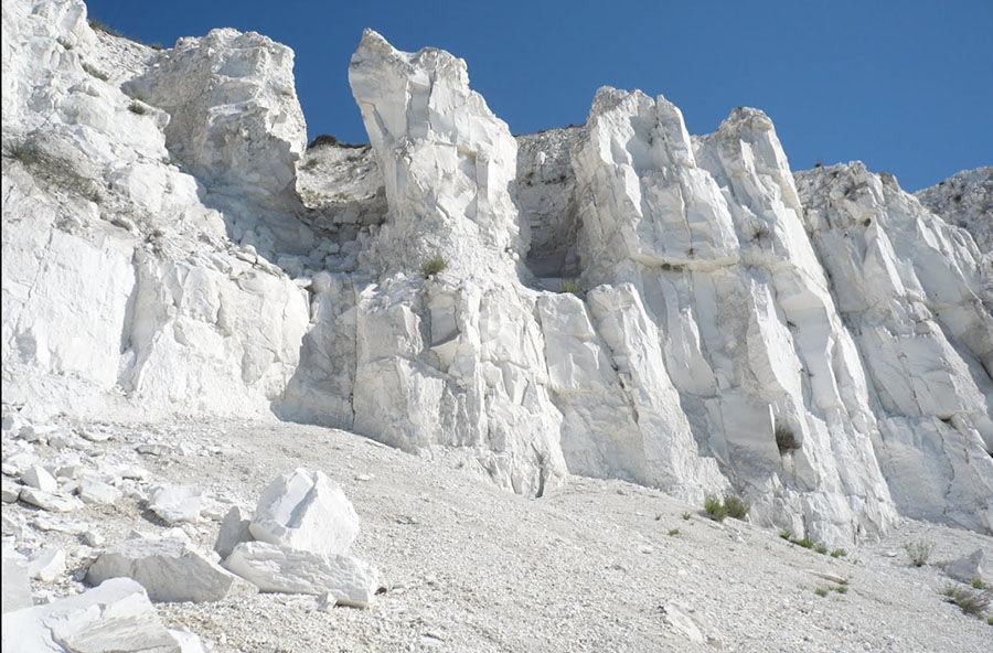 меловые горы фото