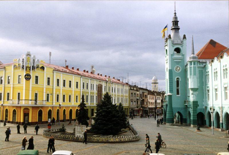 Мукачево - один из самых красивых городов Западной Украины