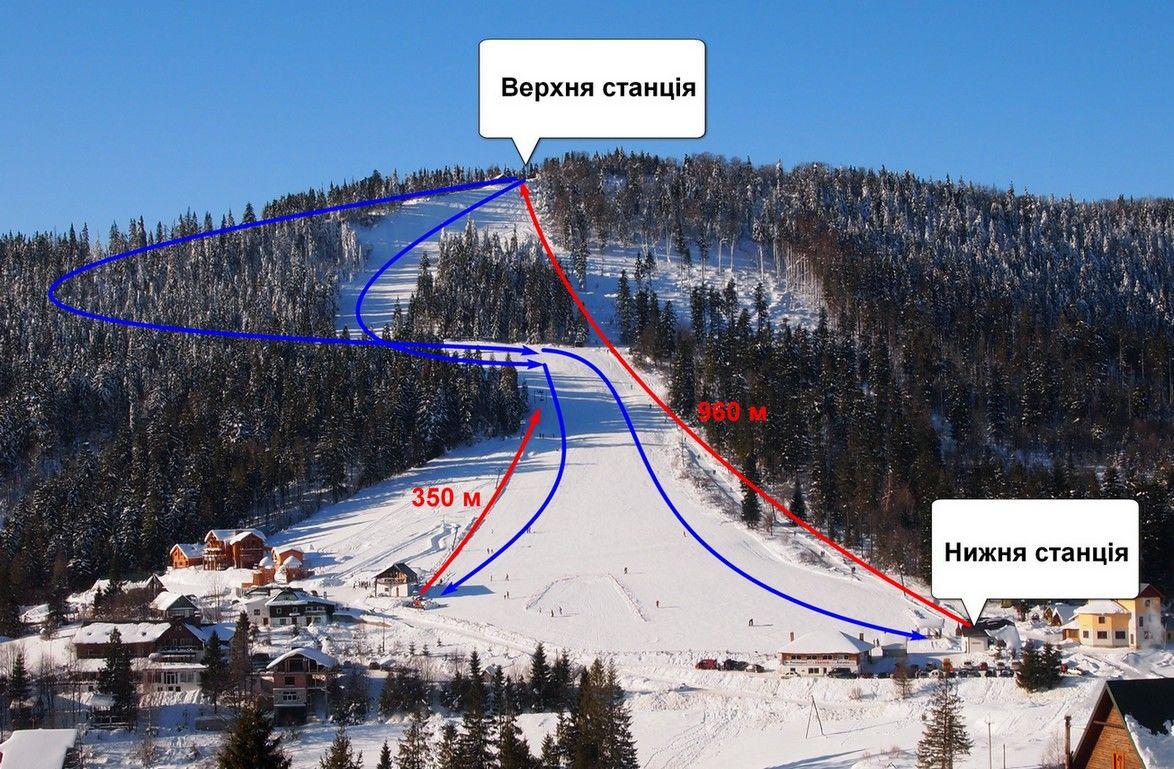 Орявчик (Звенив) - горнолыжный комплекс в Львовской области. Отзывы  посетителей.