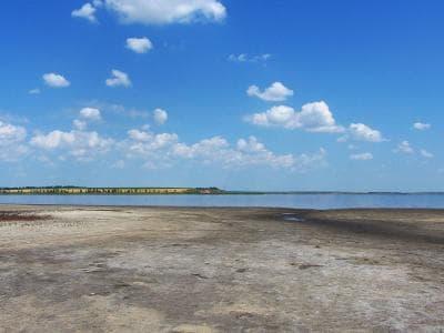 Озеро Солонец-Тузлы известно своими лечебными свойствами, грязями, климатом и уникальным ландшафтом. Вдоль береговой линии простирается сосновый лес, рядом степь. В засушливый период времени водоем может полностью пересыхать, при этом на его поверхности п