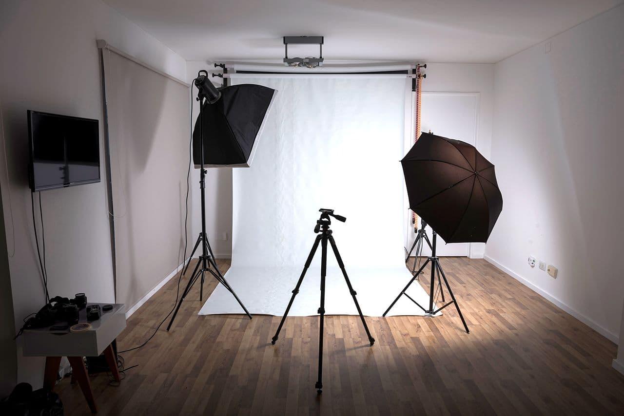 Пример мини фото-студии